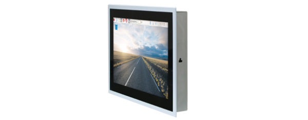 Industrial Einbau-Panel-Display mit 10,1 Zoll wide screen Mutitouch