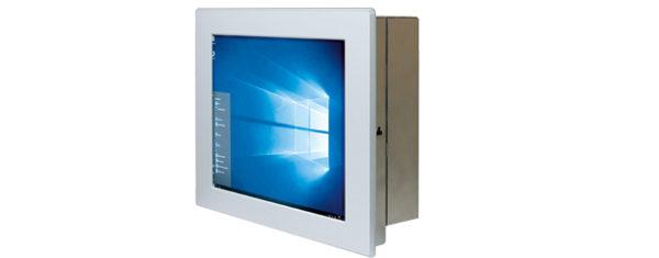 Panel PC mit 10,4 Zoll Display und Touchscreen seitlich