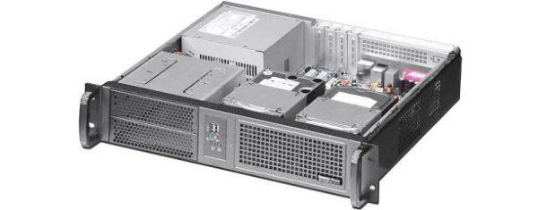 2HE Industrie-PC mit µATX-Mainboard und wählbaren CPUs der 4. Generation (Haswell)