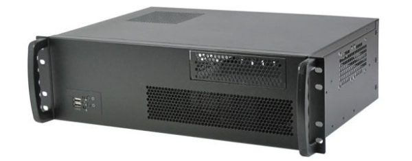 3HE Industrie-PC mit µATX-Mainboard und wählbaren CPUs der 4. Generation (Haswell)