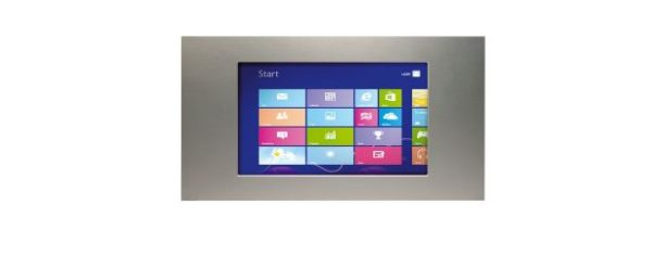 "Panel PC 7"" Touch Display 3HE / 48TE Front"