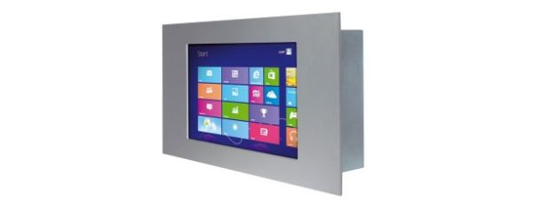 "Panel PC 7"" Touch Display 3HE / 48TE seitlich"