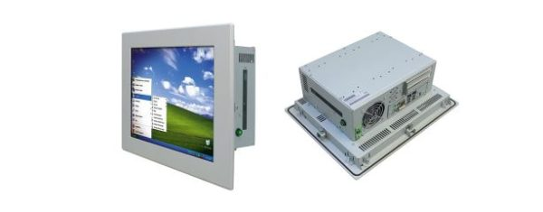 """Panel PC 15"""" Touch Display zwei PCI oder PCIe Slots"""
