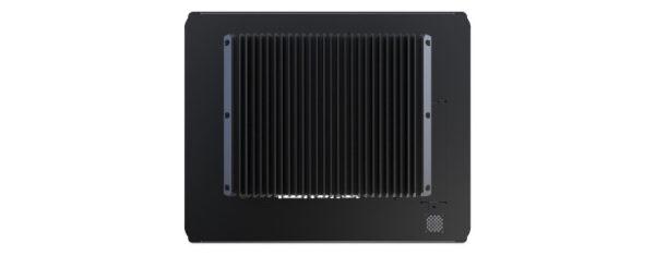 Panel PC mit 17 Zoll XGA Display, lüfterlose Skylake CPU und resistiven oder projected capacitven (pcap) Touchscreen Rückseite
