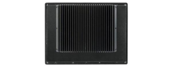 Panel PC mit 19 Zoll XGA Display, lüfterlose Skylake CPU und resistiven Touchscreen Rückseite