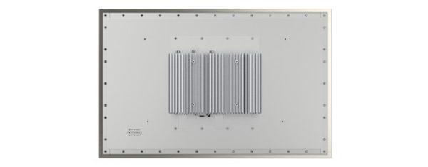 Panel PC mit 21,5 Zoll Full-HD Display, lüfterlose CPU und projected capacitven (pcap) Touchscreen - Rückseite
