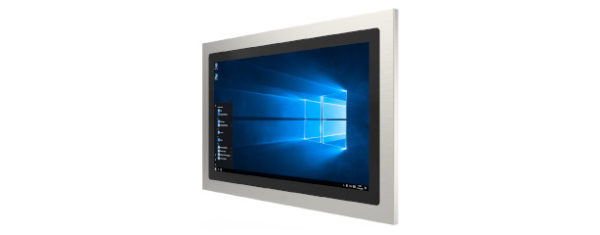 Panel PC mit 21,5 Zoll Full-HD Display, lüfterlose Skylake CPU und projected capacitven (pcap) Touchscreen