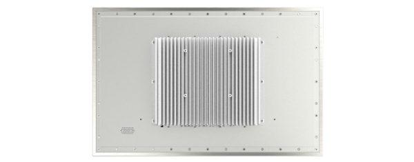 Panel PC mit 21,5 Zoll Full-HD Display, lüfterlose Skylake CPU und projected capacitven (pcap) Touchscreen - Rückseite