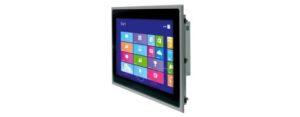 Panel PC mit 21,5 Zoll Full HD Display und Multitouchscreen Seite