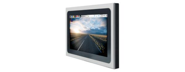 """Industrial Raspberry-Pi-3 PC mit 10,1"""" Widescreen Multitouch-LCD und einer Auflösung von 1024x600 Pixel."""