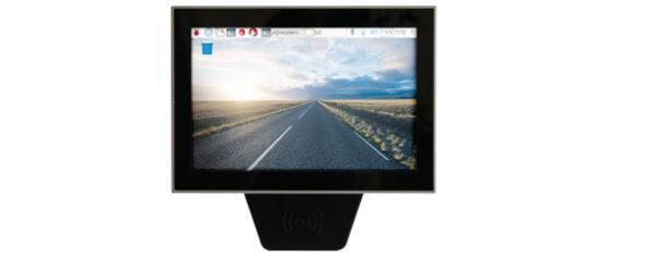 Industrial Raspberry-Pi-3 PC mit 10,1 Zoll Multitouch-LCD, RFID und PoE