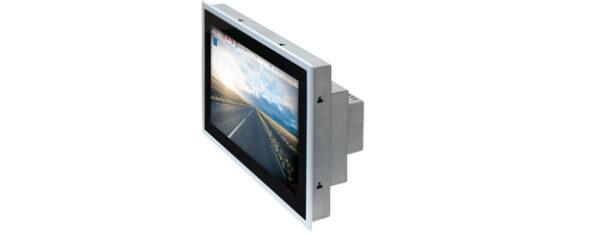 Industrial Raspberry-Pi-3 Panel PC mit 10,1 Zoll wide screen Multitouch und PiXtend v2-l - seitlich