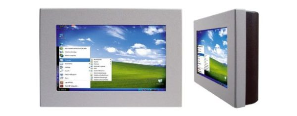 Industrial all-in-one PC mit 7 Zoll wide screen Touch-LCD
