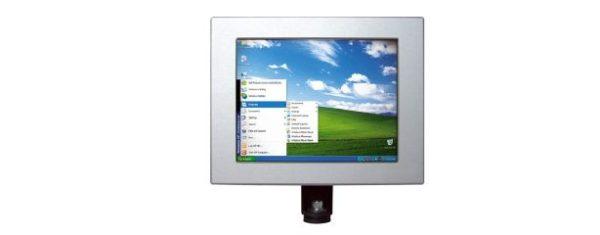 Industrial all-in-one PC mit 8 Zoll Display und optionalen Touchscreen