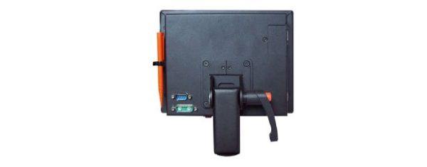 Industrial all-in-one PC SAC 08 kann mit Tragarm oder VESA-Befestigung bestückt werden
