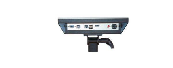 Industrial all-in-one PC SAC10-1 kann mit Tragarm oder VESA-Befestigung bestückt werden