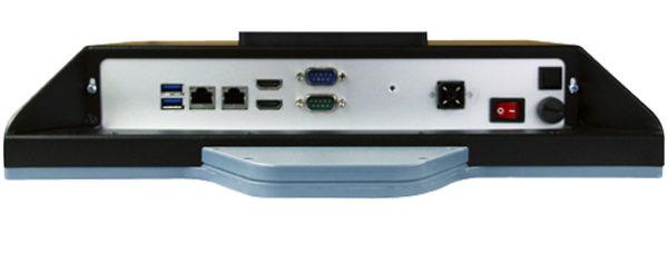 Industrial all-in-one PC mit 15 Zoll XGA Display und TWN4 Multitech RFID reader/writer Anschluesse