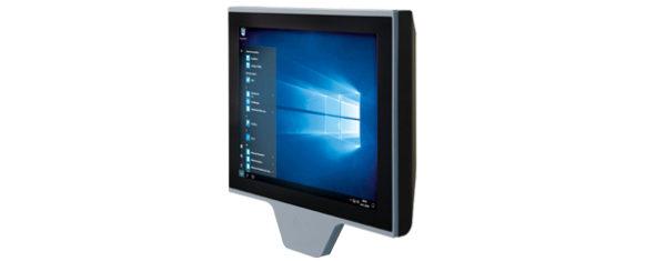 Industrial all-in-one PC mit 15 Zoll XGA Display und TWN4 Multitech RFID reader/writer
