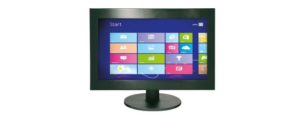 Industrial all-in-one PC mit 18,5 Zoll Display und optionalen Touchscreen