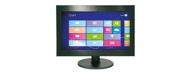 Industrial all-in-one PC mit 18,5 Zoll Display und optionalen Touchscreen