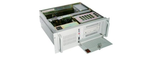"""19 """"/ 4U industrial PC with ATX mainboard supports the current 4th generation processors (Haswell) and is designed for 24/7 continuous operation. Up to seven PCI slots available."""