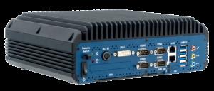 EBC05 - Embedded Box Computer Vorderansicht