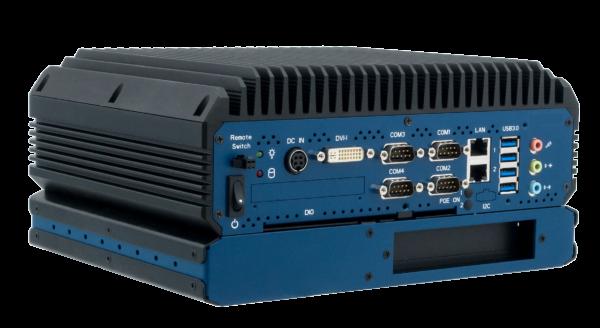 EBC05 - Embedded Box Computer mit PCIe x4 Erweiterung