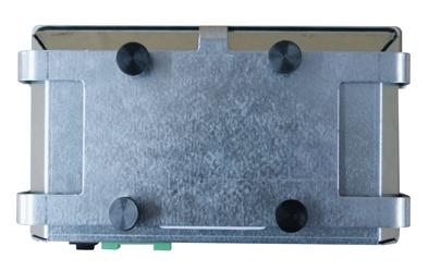 RPi07-Panel-PC Rückseite mit Klammer