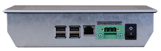 RPi07-Panel-PC Schnittstellen