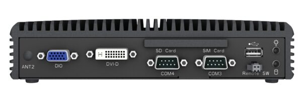 Embedded Box Computer EBC02 Front