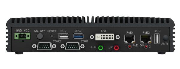 Embedded Box Computer EBC02 Rear